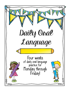 A MONTH of Daily Oral Language (Mini-Booklet)