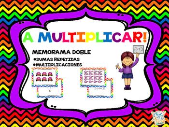A MULTIPLICAR! (Memory game)