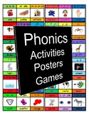A MUST HAVE for every FRENCH TEACHER! Phonics Posters, Gam