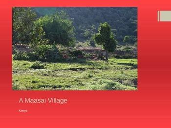 A Maasai Village