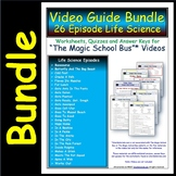 A Differentiated Worksheet Bundle- Quiz Ans for Magic School Bus - Life Science*