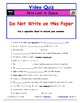 "A Magic School Bus ** ""Gets Lost in Space"" Worksheet, Answ"