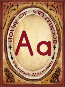 A Magical Classroom - Classroom Posters and Decor - Alphabet Posters