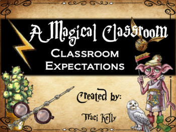A Magical Classroom - Classroom Posters and Decor - Classroom Rules