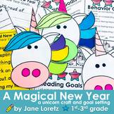A Magical New Year (a unicorn craft and goal setting activity)