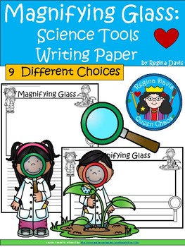 A+ Magnifying Glass: Science Tools ... Writing Paper