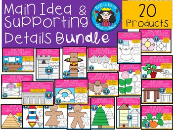 A+  Main Idea And Supporting Details: Bundle Pack