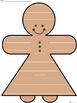 A+ Main Idea with Supporting Details: Gingerbread Girl Graphic Organizer