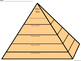 A+ Main Idea with Supporting Details: Pyramid Graphic Organizer