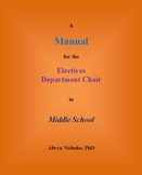 A Manual for the Electives Department Chair in Middle School