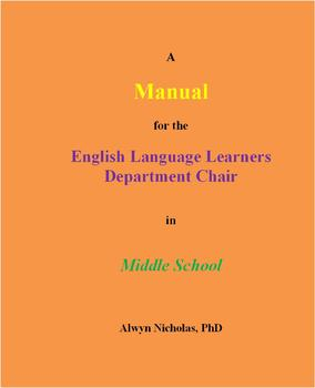 A Manual for the English Language Learners Department Chair in Middle School