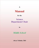 A Manual for the Science Department Chair in Middle School