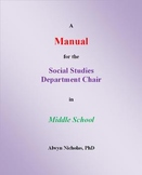 A Manual for the Social Studies Department Chair in Middle School