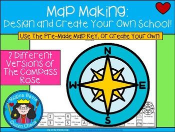 A+ Map Making: Design And Create Your Own School!