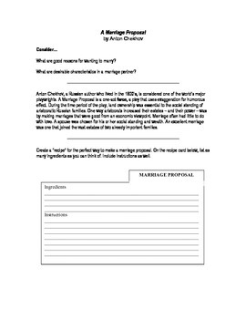 A Marriage Proposal _ Chekhov