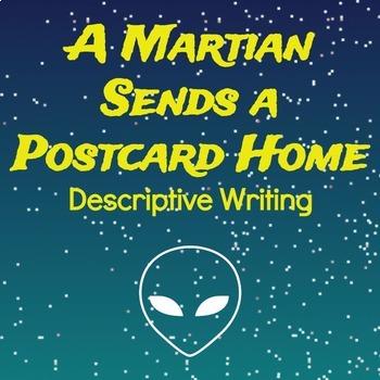 A Martian Sends a Postcard Home (For Imaginative Writing)