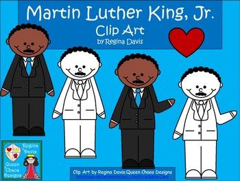 A+ Martin Luther King Clip Art  Set