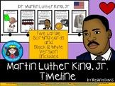 A+ Martin Luther King, Jr. Timeline
