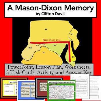 """A Mason Dixon Memory"" by Clifton Davis    Lesson PLUS"