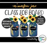 A' Mason Jar Class Job Board