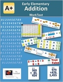 """A+ Math"" Elementary Addition Lessons, Worksheets & Answer Keys"