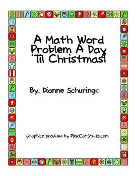 A Math Word Problem A Day 'Til Christmas