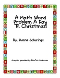A Math Word Problem A Day 'Til Christmas