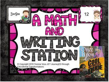 A Math and Writing Station Motorcycle Princess