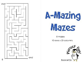 A-Mazing Mazes: Booklet 2