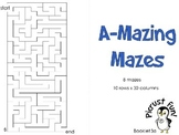 A-Mazing Mazes: Booklet 3