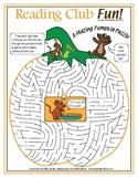 Thanksgiving Maze Puzzle – A-Mazing Thanksgiving Pumpkin Puzzle