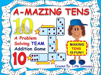 Addition and Problem Solving Math Game: Team Building Fun For All Ages