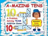 Addition and Problem Solving Math Game: Team Building Fun
