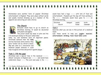 Medieval Christmas Celebrations