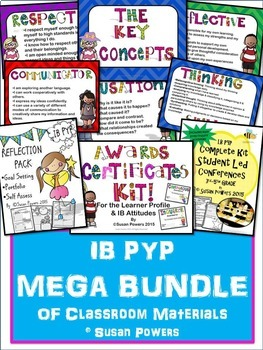 A Mega Bundle of Bright IB PYP Classroom Tools