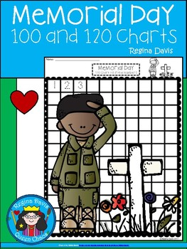 A+ Memorial Day: Numbers 100 and 120 Chart