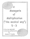 A Menagerie of Multiplication 0-9