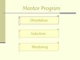 A Mentor Program