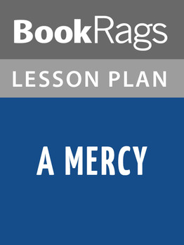 A Mercy Lesson Plans