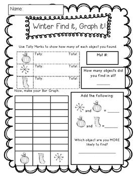 A Merry Pack of December Printables! Math and ELA