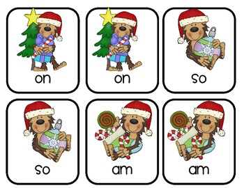 A Merry Sight Word Practice