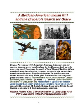 A Mexican-American Indian Girl and the Bracero's Search for Grace