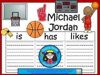 A+ Michael Jordan... Three Graphic Organizers