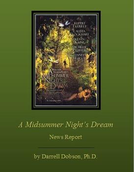 A MidSummer Night's Dream News Report Assignment