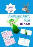 A Midsummer Night's Dream Bingo