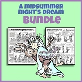 A Midsummer Night's Dream  and Shakespeare Bundle