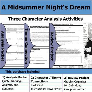 a midsummer night dream characters