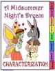 A Midsummer Night's Dream Characterization Flipbook