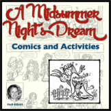 A Midsummer Night's Dream: Comics and Activities