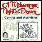 A Midsummer Night's Dream Comics and Activities
